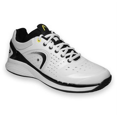 Head Sprint Pro Mens Tennis Shoe White/Black 273024 WHBK