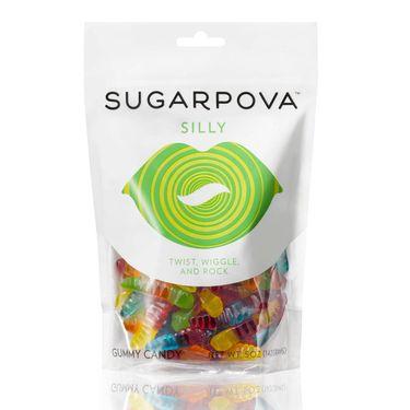 Sugarpova Silly Worm Gummy Candy