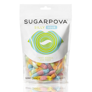 Sugarpova Silly Sour Worms Gummy Candy