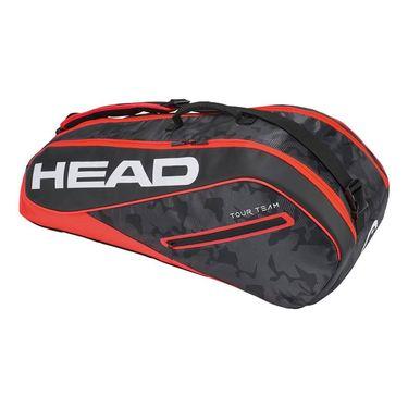 Head Tour Team 6 Pack Combi Tennis Bag - Black/Red
