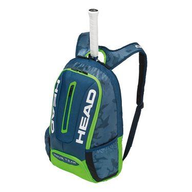 Head Tour Team Backpack - Navy/Green