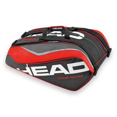Head Tour Team 2016 Monstercombi 12 Pack Black/Red Tennis Bag