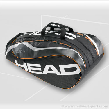 Head Novak Djokovic Monstercombi Tennis Bag
