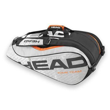 Head Tour Team 2016 Supercombi 9 Pack Silver/Black Tennis Bag