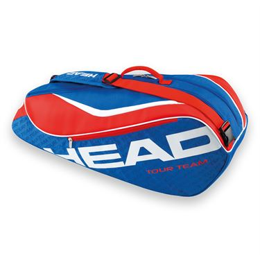 Head Tour Team 2016 Combi 6 Pack Blue/Red Tennis Bag