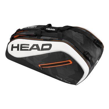 Head Tour Team 9 Pack Supercombi Tennis Bag - Black/White