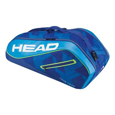 Head Tour Team 6 Pack Combi Tennis Bag - Blue