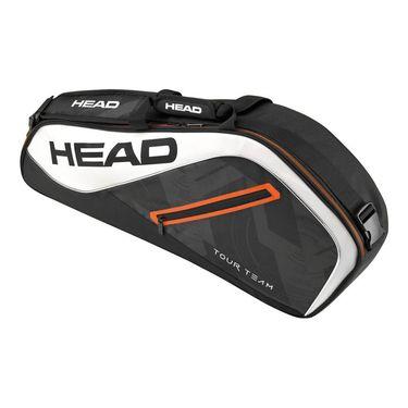 Head Tour Team 3 Pack Pro Tennis Bag - Black/White