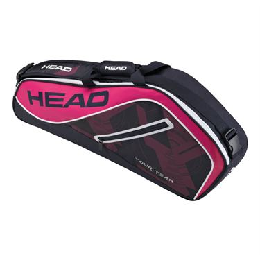 Head Tour Team 3 Pack Pro Tennis Bag - Navy/Pink