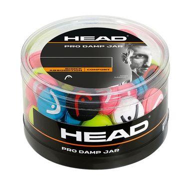 Head Pro Damp 70 Piece Jar - Assorted Colors
