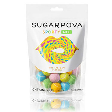 Sugarpova Sporty Mix Tennis Ball Chewing Gum