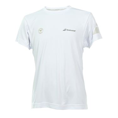 Babolat Boys Wimbledon Performance Crew - White