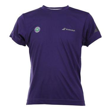 Babolat Boys Wimbledon Performance Crew - Purple