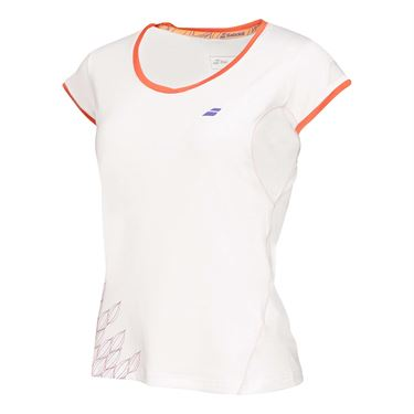 Babolat Perf Cap Sleeve Top - White