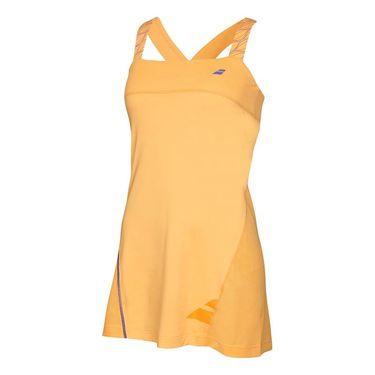 Babolat Girls Perf Strap Dress - Tomato Wash