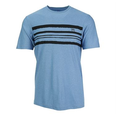 Travis Mathew Capalbo Crew - Heather Sky Blue