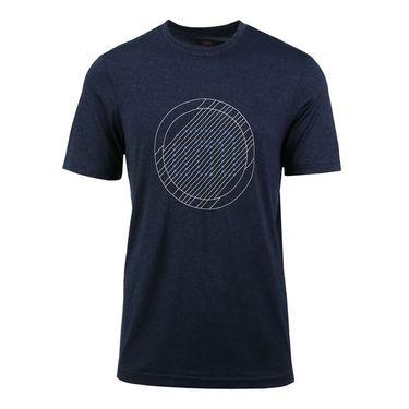 Travis Mathew Trial Shirt - Heather Blue Nights