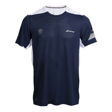 Babolat Wimbledon Perf Crew - Dark Blue