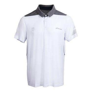 Babolat Wimbledon Perf Polo - White Grey