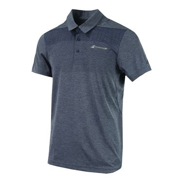 Babolat Performance Polo - Heather Blue