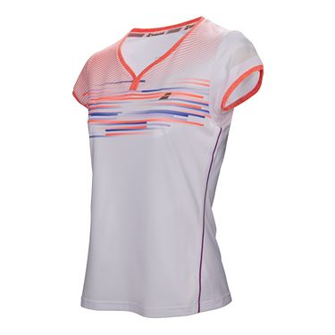 Babolat Performance Cap Sleeve Top - White