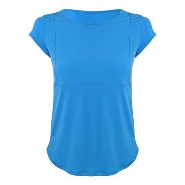 BPassionit Princess Cap Sleeve Top - Cool Blue