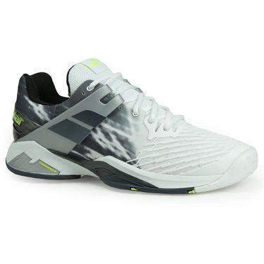 Babolat Propulse Fury All Court Mens Tennis Shoe - White/Black