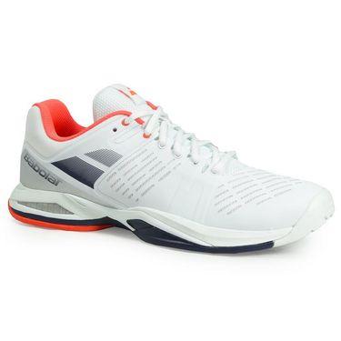 Babolat Propulse Team All Court Mens Tennis Shoe - White/Blue