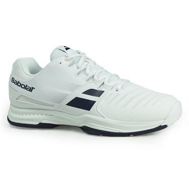 Babolat SFX All Court Mens Tennis Shoe - White/Blue