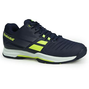 Babolat SFX All Court Mens Tennis Shoe - Blue/Yellow