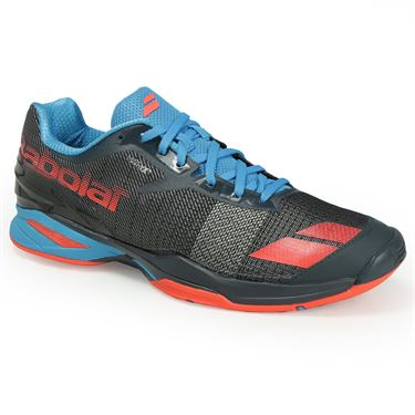 Babolat Jet All Court Mens Tennis Shoe - Grey/Red/Blue