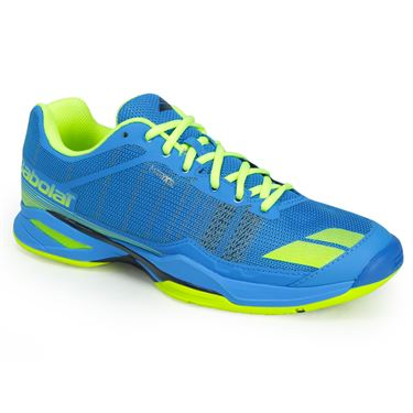 Babolat Jet Team All Court Mens Tennis Shoe - Blue/Yellow