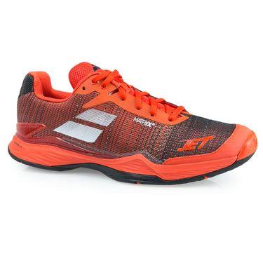 Babolat Jet Mach II Mens Tennis Shoe - Orange.Com/Black