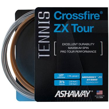 Ashaway Crossfire ZX 16L Tour Tennis String