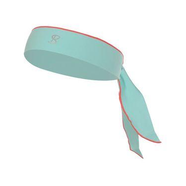 Sofibella Fiji Tie Headband - Aqua/Sorbet