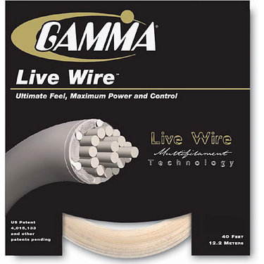Gamma Live Wire 16G Tennis String