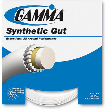 Gamma Synthetic Gut 18G Tennis String