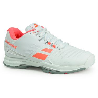 Babolat SFX All Court Womens Tennis Shoe - White/Pink