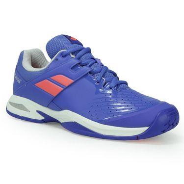 Babolat Junior Propulse All Court Tennis Shoe - Blue/Fluo Pink
