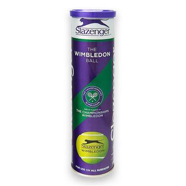 Dunlop Slazenger Wimbledon Tennis Balls (4 Ball Can)