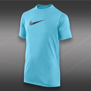 Nike Boys Legend Crew-Polarized Blue