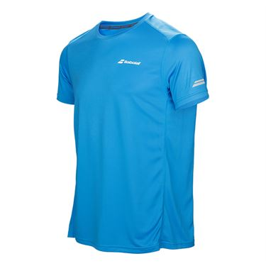 Babolat Boys Core Flag Club Crew - Drive Blue