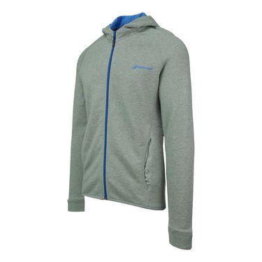 Babolat Core Hooded Sweatshirt - Heather Grey