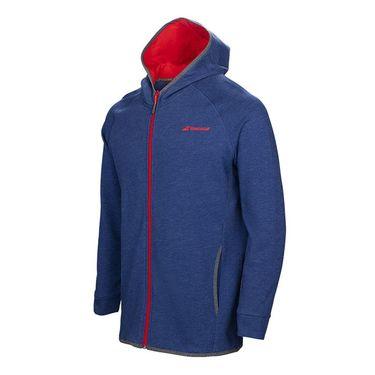 Babolat Core Hooded Sweatshirt - Twilight Blue