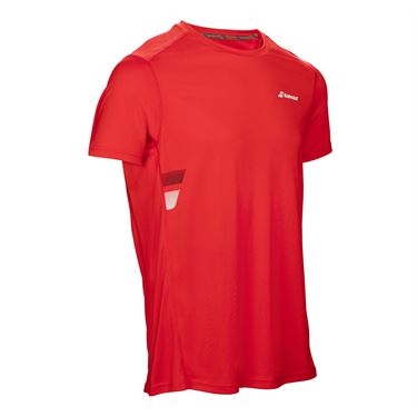 Babolat Core Flag Club Crew - Fluo Red