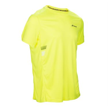 Babolat Core Flag Club Crew - Aero Yellow