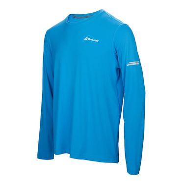 Babolat Core Long Sleeve Tee - Drive Blue