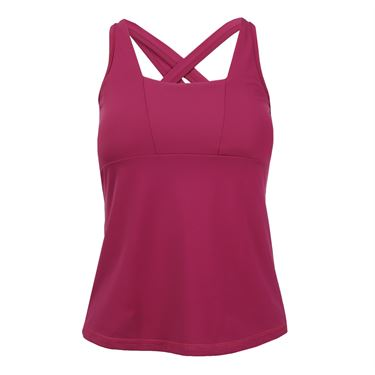 B Passionit Spectrum Strappy Tank - Burgundy