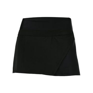 BPassionit Wrap Skirt - Black/Honeycomb Mesh