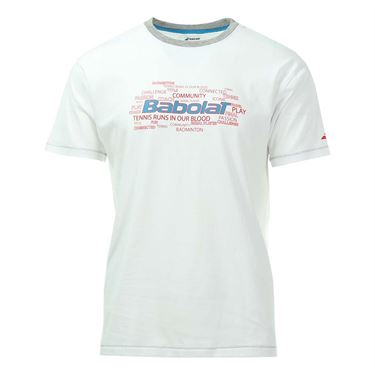 Babolat Core Training Tee - White